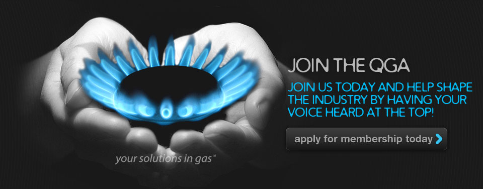 Banner: join the Queensland Gas Association Today